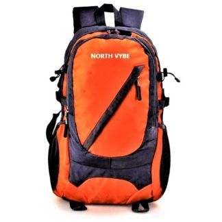 North Vybe Orange color backpack