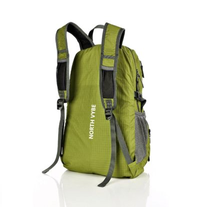 North Vybe backpack back view