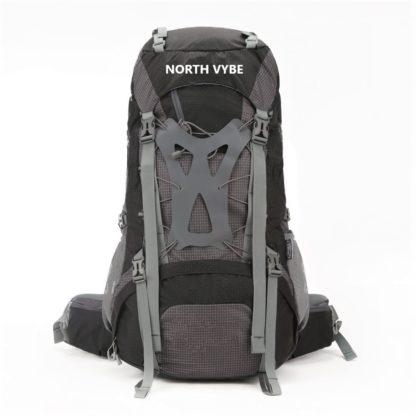 North Vybe Hiking Backpack black color model 8