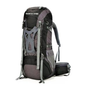 North Vybe Hiking Backpack black color model 8