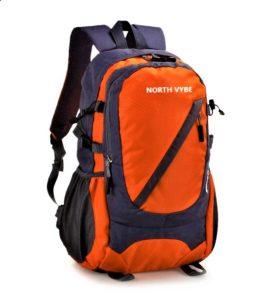 North Vybe Orange color backpack