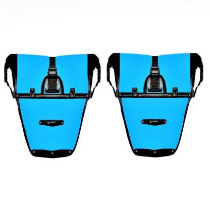 pannier model 4 back blue