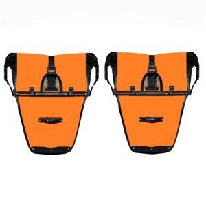 pannier model 4 back orange