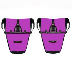 pannier model 4 back purple